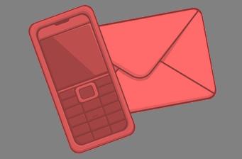 לוגו יצירת קשר-אדום